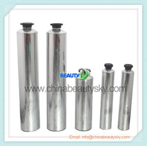 Skin Care Packaging Hand Cream Labeling Empty Collapsible Aluminum Container Tube pictures & photos