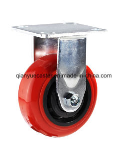 Rigid Heavy Duty Caster, PU Caster pictures & photos