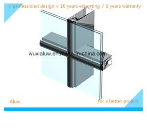 Top Quality Invisible Curtain Wall pictures & photos