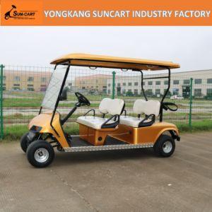 Custom Golf Car, Customized Electric Golf Cart, Hotel Electric Golf Cart, 4 Person Electric Golden Car pictures & photos