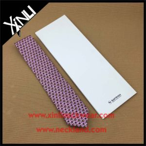 High Quality Handmade 100% Silk Print Necktie with Envelope Box pictures & photos