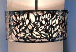 Fabric Inner Shade with Two Steel Laser Cutting Pendant Lamp pictures & photos