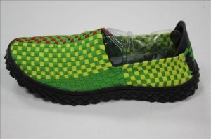 2015 New Arriving Men′s Casual Woven Shoes pictures & photos