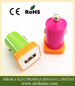 5V 1A Single USB Micro USB Car Charger for Mobile Phones pictures & photos