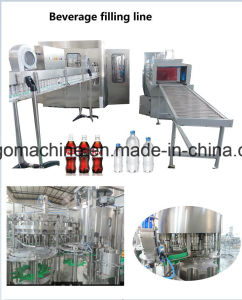 Complete 3in1 Carbonated Beverage Soft Drink Bottling Filling Machine Production Line pictures & photos