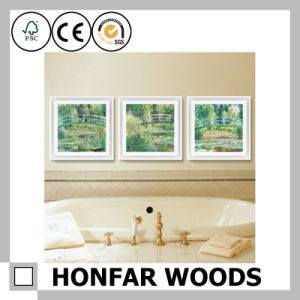 Collage Wall Art Canvas Print Wood Picture Frame Decor