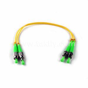 LC/APC-FC/PC Singlemode Simplex Fiber Optic Patch Cord pictures & photos