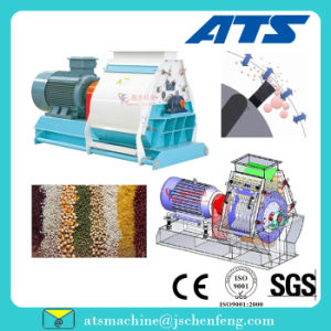 1-5t/H Wide Chamber Corn Bean Hammer Mill for Making Animal Feed pictures & photos