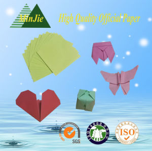 Art Folding Handmake Folded Square Shape Colour Paper Origami pictures & photos