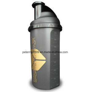 Free Sample 700ml Wholesale Custom Plastic Shaker Bottle pictures & photos