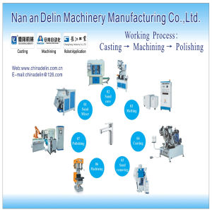 Delin Hot Vertical Sand Core Molding Machine Molding Machine Sand Molding Machine pictures & photos