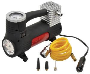 12V Car Tire Pump Air Compressor Mini Car Pump with Light pictures & photos