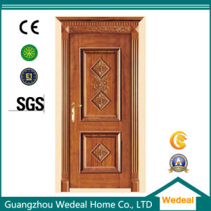 Customize Classical Solid Wooden Solid Core Door for House Projects pictures & photos