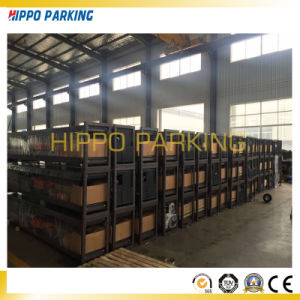 Two Layer Four Post Parking Lift, Manual Car Parking Lift pictures & photos