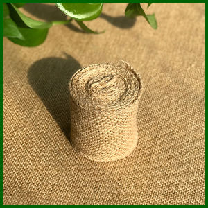 Natural Jute Hessian Cloth Roll pictures & photos