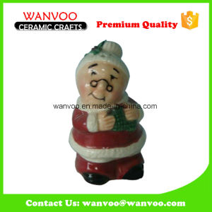 Custom Made Porcelain Christmas Old Grandma Statue Gifts for Holiday Ornament pictures & photos