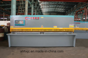 QC12k-6*3200mm Hydraulic Swing Beam CNC Shearing Machine/Cutting Machine pictures & photos