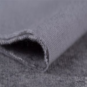 Mixed Wool Fabric for Winter Coat in Gray pictures & photos