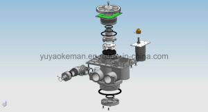 Newly Design Automatic Keman Carbon Water Filter System pictures & photos