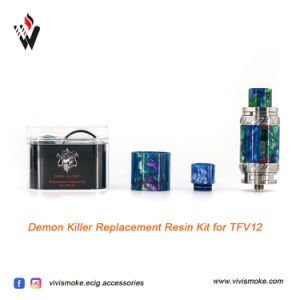Demon Killer Tfv12 Resin Tube with Drip Tip Kit pictures & photos
