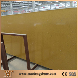 Best Quality A Grade Engineered Quartz Slabs Crystal Yellow Quartz pictures & photos