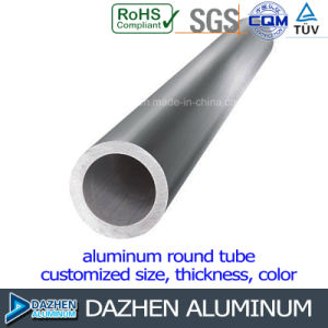 Customized Dia Round Tube Pipe Aluminium Extrusion Profile pictures & photos