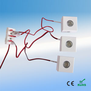 1W 12-24V LED Cabinet/Puck Light