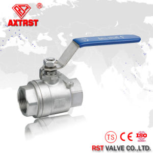 2PC 1000wog 304 316 Stainless Steel Full Bore Ball Valve pictures & photos