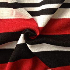 Poly/Rayon/Spandex Yarn Dyed Stripe Knitting Fabric Rib (QF13-0686) pictures & photos