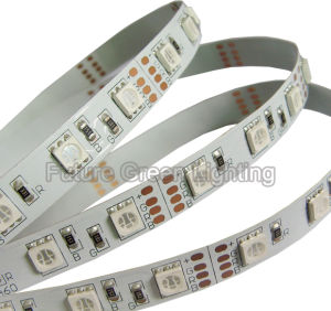 RGB LED Flexible Strip 60SMD 5050 (FG-LS60S5050NW-RGB) pictures & photos