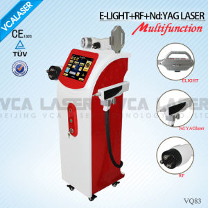 Multifuction Device ND: YAG Laser RF E-Light (VQ83) pictures & photos