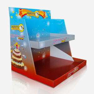 POS Cardboard Counter Display Units, Pop Tabletop Display Stand pictures & photos