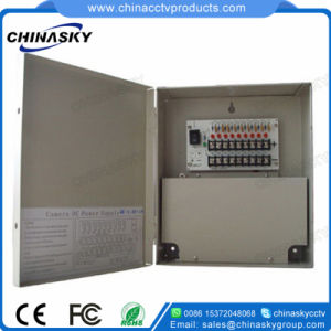 9 Channel 12VDC CCTV Power Supply with PTC Fuse (12VDC10A9PN) pictures & photos