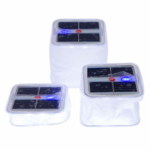 Mini Cube Solar Lantern in Camping Light pictures & photos