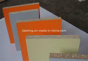 Solid Color Melamine Faced Particle Board/Chipbaord, Melamine Laminated Particle Board pictures & photos