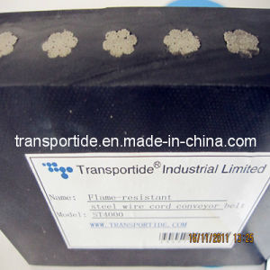 Heavy Duty Steel Cord Conveyor Belts (ST630~ST6300) pictures & photos