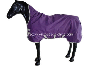 Waterproof Ripstop Horse Product High Neck Horse Rugs (SMR1608A) pictures & photos
