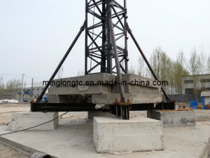 Tower Crane TC5010 with Concrete Block Pressure Type pictures & photos