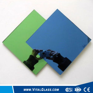 Tinted Reflective Aluminum Mirror for Bathroom Mirror/Decorated Wall Mirror pictures & photos