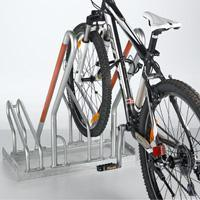 Floor Stand Bike Rack with Support Rails (881979)