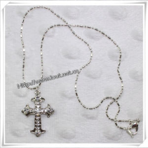 2014 Fashion Alloy Cross with Newest Necklace (IO-an007) pictures & photos