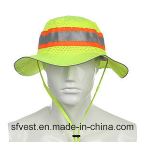 China road safety equipment high visibility bucket hat for High hat fish