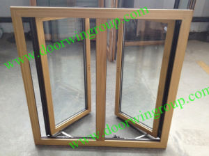 Solid Teak Wood Clad Aluminium Casement Window pictures & photos