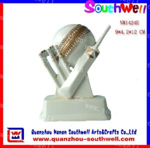 Polyresin Cricket Sport Trophy Figurine