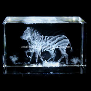 Crystal 3D Zebra