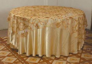 Organdy Table Cloth (B-011)