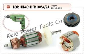 Armature, Stator and Gear Sets for Power Tools Hitachi Fd10va pictures & photos