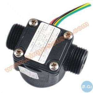Electronic Plastic NPT Piston Type Flow Switch pictures & photos