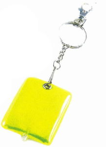 LED Soft Reflector Keychain with En13356 Comblian pictures & photos