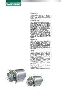 Sanitary Pump/Centrifugal Pump pictures & photos